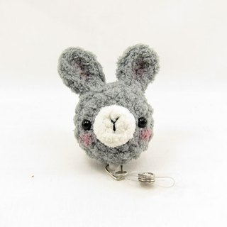 Gray Bunny Rabbit - Tickets - Easy You Card