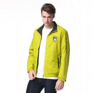 Sporty golf cotton jacket