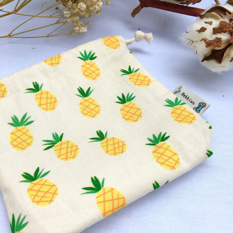 Wanglai Small Pineapple - Drawstring Pocket |