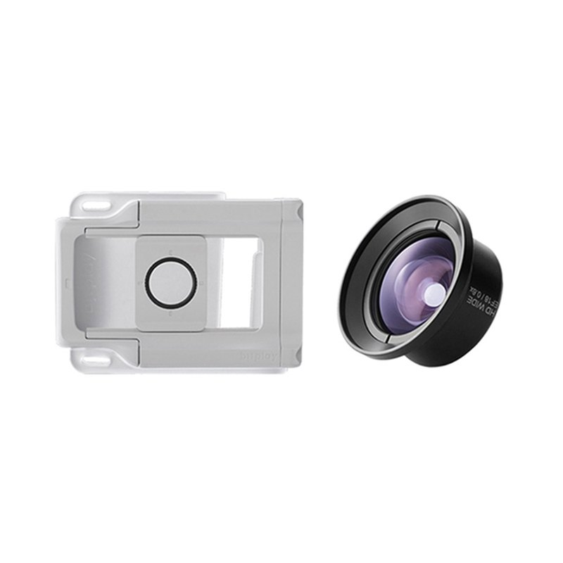 Bitplay universal lens buckle combination (+HD high-order wide angle)