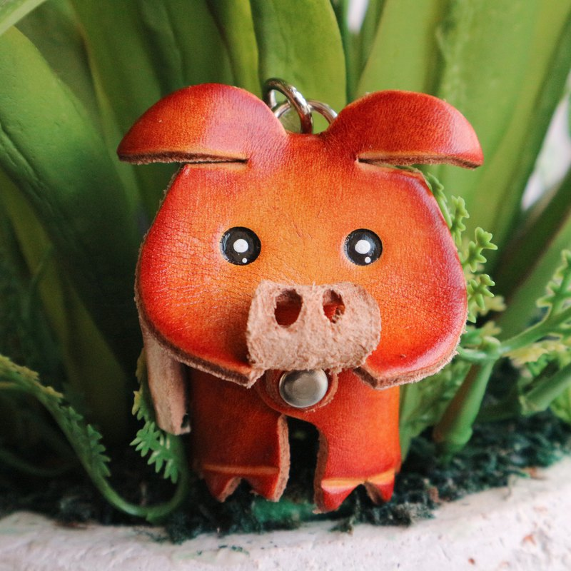Healing Series Key Ring / Golden Pig
