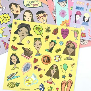 SIGNATURE STICKER SHEET - #02