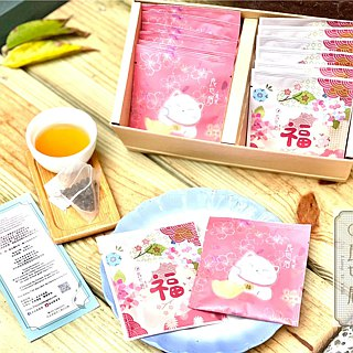 Wedding small things - original leaf three-dimensional tea bag - 3 kinds of free combination