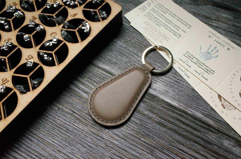 Buttero 悠遊卡晶片吊飾-鑰匙圈B款-灰色