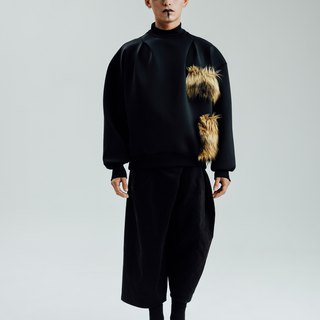 Alan Hu 2017 A / W Shoulder Sweater