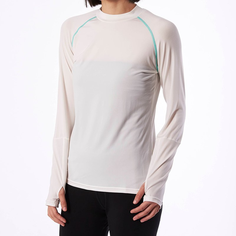 Cottonseed 157 long sleeve Tee-white