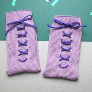 XX Socks / green paper money tying Socks / Champagne Purple / custom orders