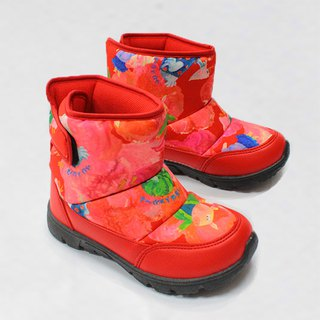 Children water resistant boots – Red –