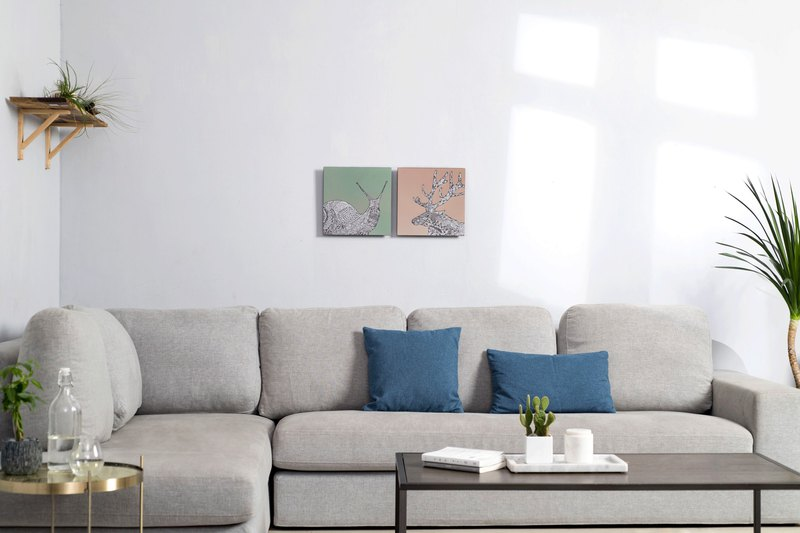 兩件組-鋁合金裝飾板-特仕版 Decor Board AL6061