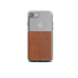 US NOMADxHORWEEN iPhone 8/7 transparent back cover leather drop protection shell (855848007168)
