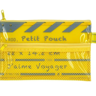 Director Clap Petit Pouch - Yellow