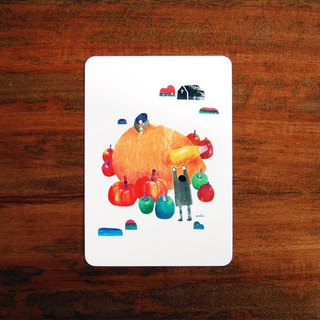 Thanksgiving harvest / postcards