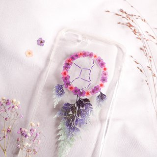 Virgo Pressed Flower Dreamcatcher Phone Case | 12 Zodiac