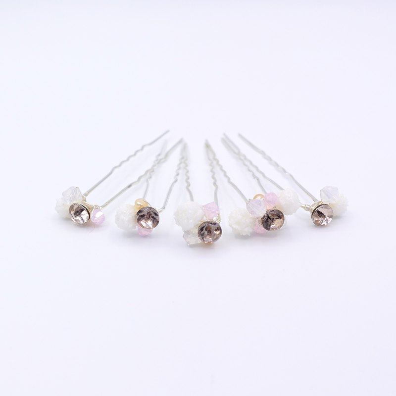 Baby's Breath Silver-plated Hair Pin