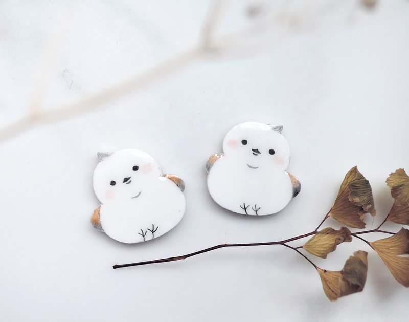 Snow Elf small tits handmade earrings anti-allergic ear acupuncture painless ear clip