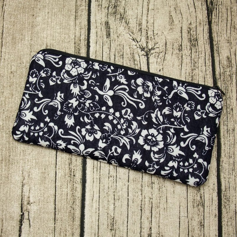 Large Zipper Pouch, Pencil Pouch, Gadget Bag, Cosmetic Bag (ZL-13)