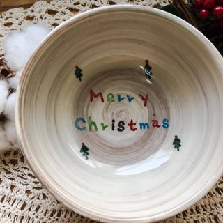 + Christmas limited + warm Christmas big hand bowl