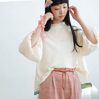 Shu Fulei / Sleeve / Top / Plaid