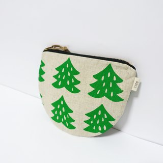 Screen printing  Cosmetic bag  Chinese fir