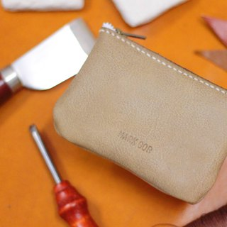 Make Your Choicesss Italian leather zipper purse