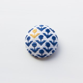 Hand embroidered turban embroidery ancient and modern embroidery pin brooch flower accessories
