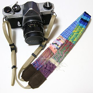 11/16 resale · Yarn's camera strap # 24