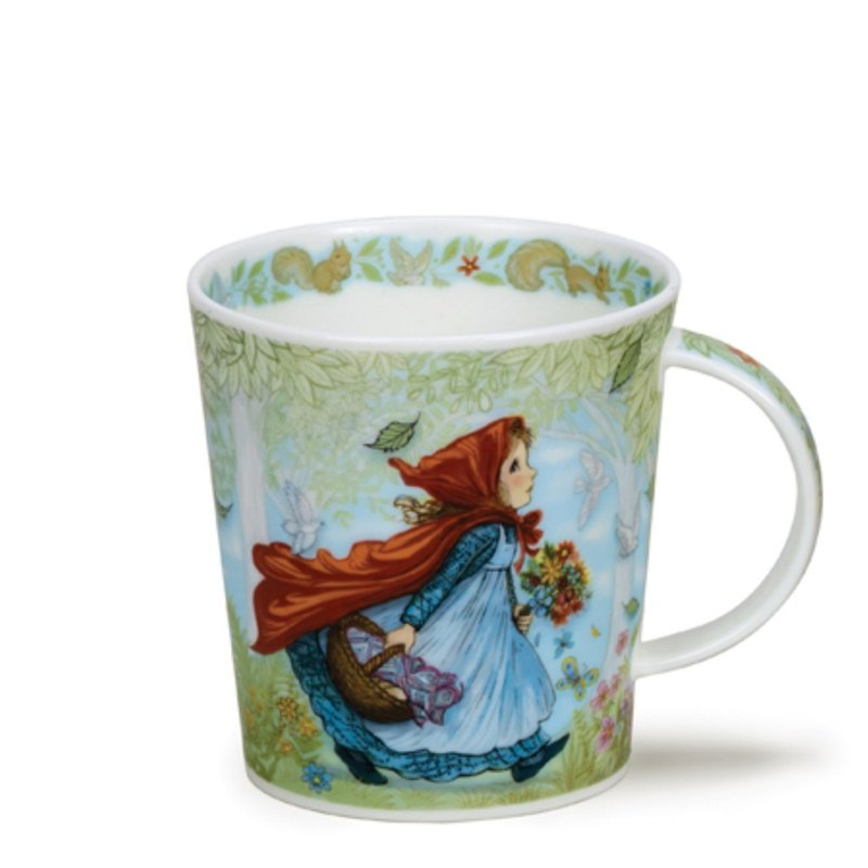 Little Red Riding Hood fairy tale mug