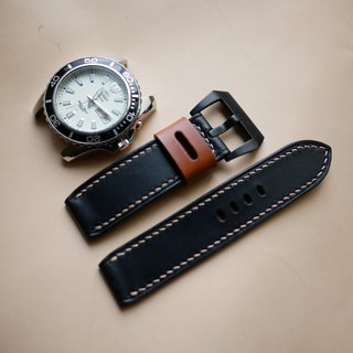 leather watch band,  custom made