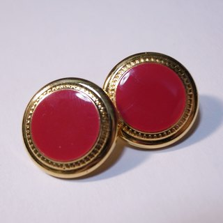 Mary red earrings