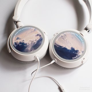 Under the Sky - Personalized Headphone, Personalized gifts, Birthday Gift, Gift for Teens, Add Your Favourite Line