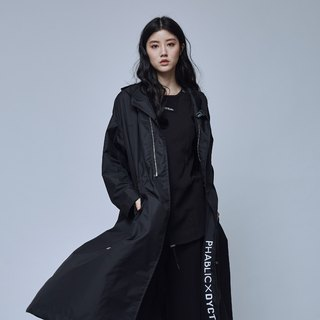PHABLIC x DYCTEAM- 3M OverCoat Japanese designer joint waterproof cloak jacket