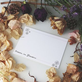 Drown In Flowers Postcard H