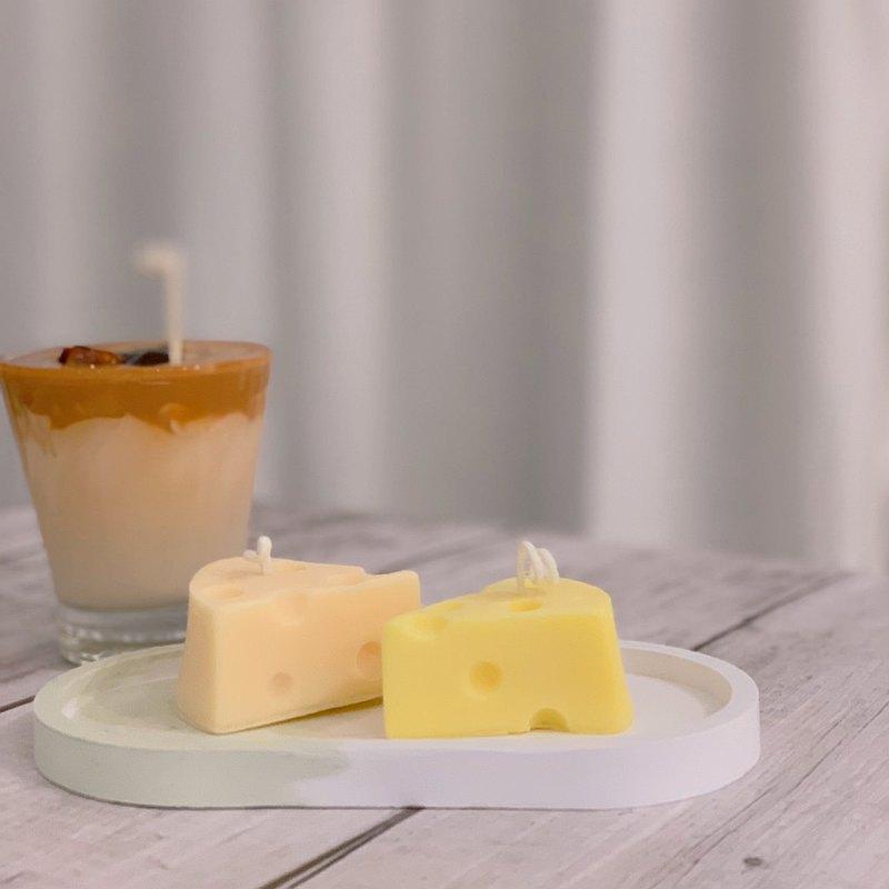 環保天然大豆蠟- 乳酪起士蠟蠋