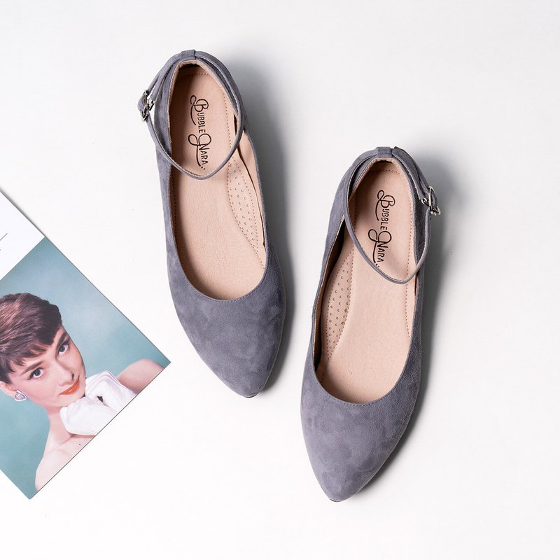 Carol sleepy pointed low heel shoes _ cold winter