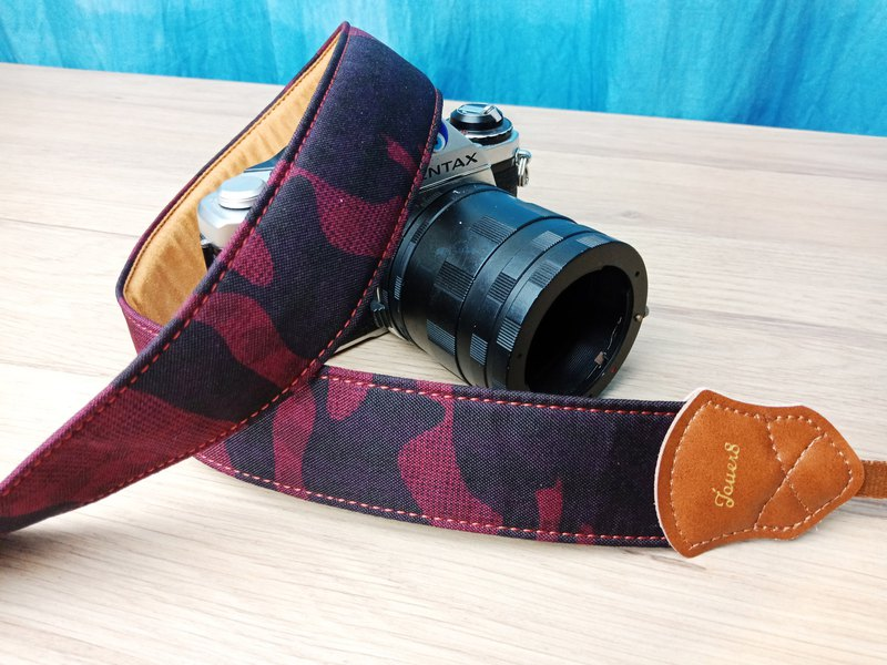 [Change season] 4.0 decompression camera strap - camouflage Xiangyang - exclusive design printing - a sense of nature