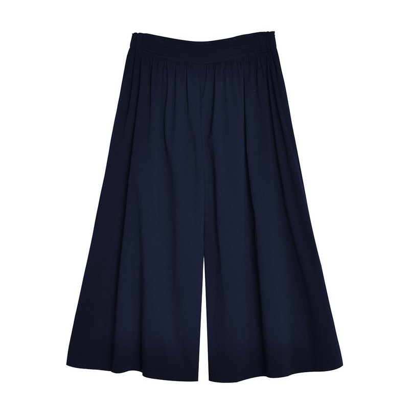 Ángeles-big girl-Capeka linen trousers skirt
