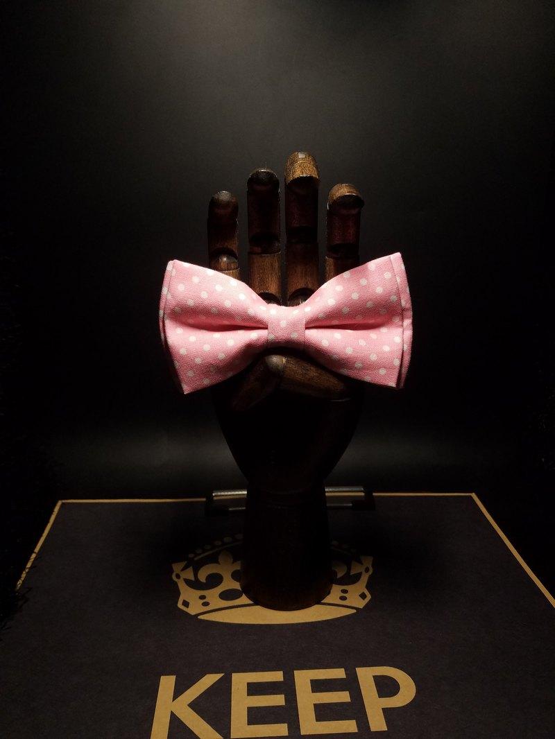 粉色雙層領結蝴蝶結英倫風百搭bolotie