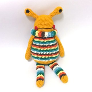 Aprilnana_ monster frog, wool dolls, cute strap, woven dolls