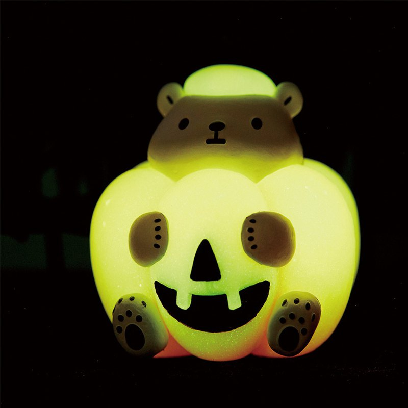 Pre-order - White Diary Series - Halloween Funny SHOW Cup Edge (with luminous version of pumpkin)