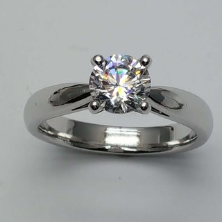[Hongsheng jewelry] A70 sterling silver 925 female ring