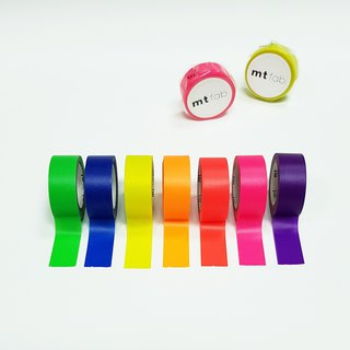 mt fab Fluorescent Masking Tape (7-color Set) 2018SS