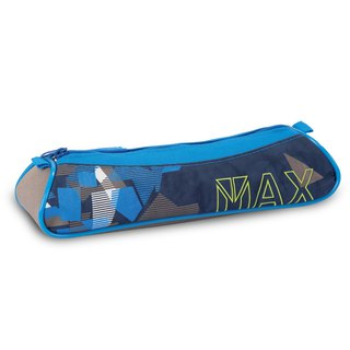 Tiger Family Explorer Simple Pencil Case (Small) - Blue Triangle