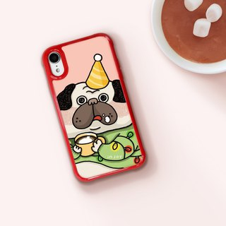 Dog Love to drink hot coco iPhone Case for i7/8,plus,iX,iXS,iXR,iXS max gift