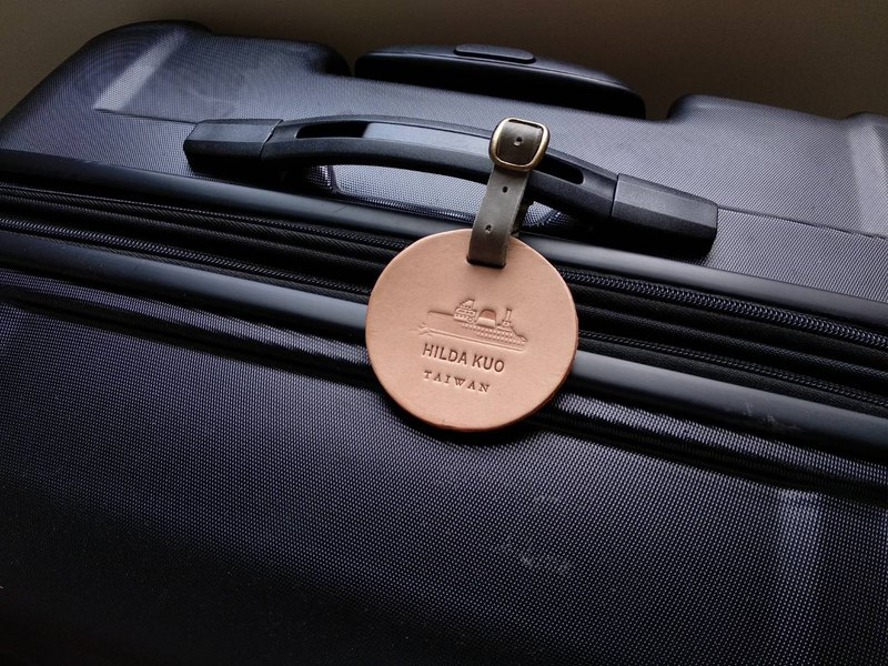 Traveler's luggage tag - the courage to break the ice, free custom-made English name typing service