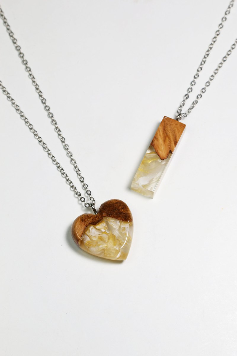 Jam - Pa Necklace / Wonder burl wood collection