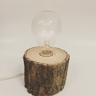Wooden table lamp 10*10*7 small