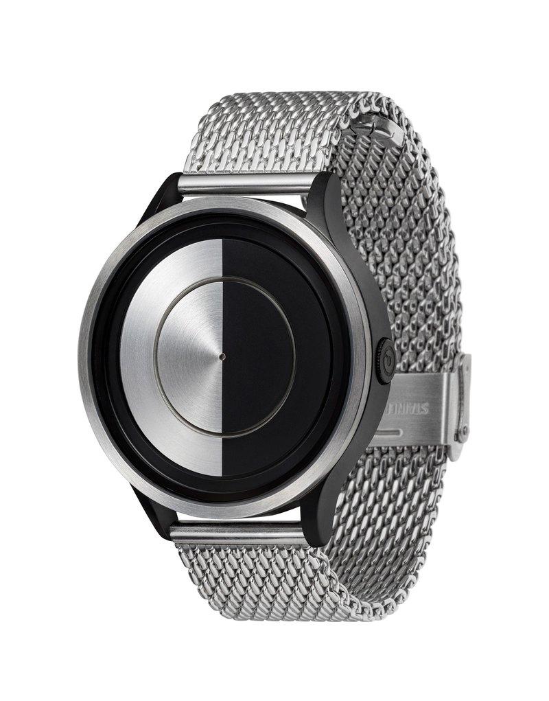 月系列腕錶 LUNAR (銀/黑 , Chrome / Black)