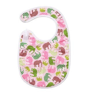 Pink Elephant Bib / Mi moon gift birthday ceremony