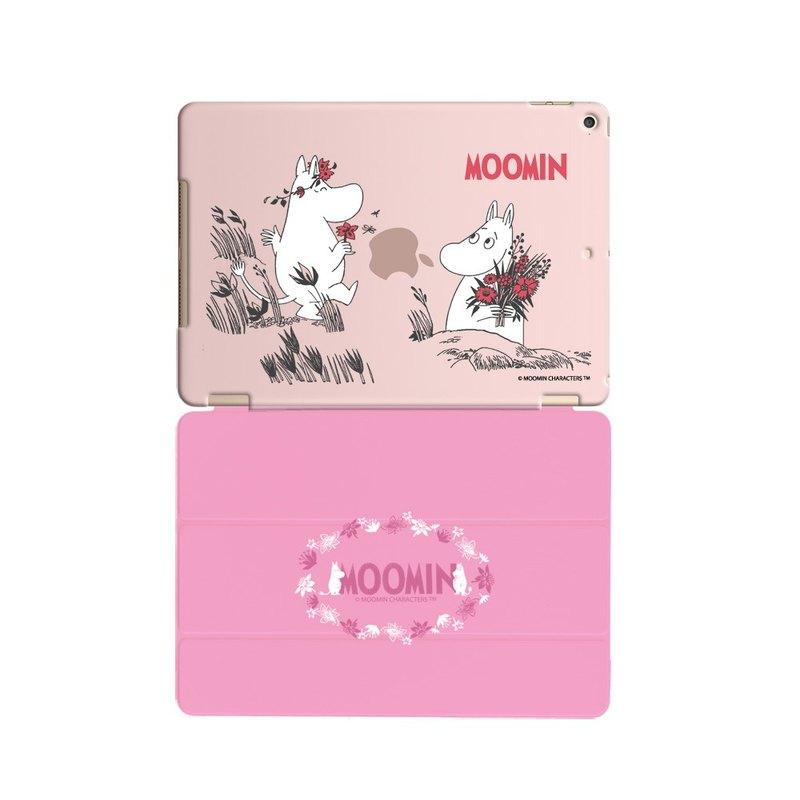 "Moomin Moomin genuine authority -iPad Crystal Case: I love [offer] ""iPad Mini"" Crystal Case (pink) + Smart Cover (pink / magnetic pole)"