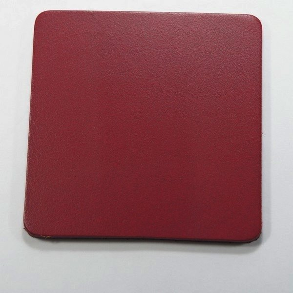 Leather leather pad coaster insulation pad square 8 cm 3 70 yuan / month